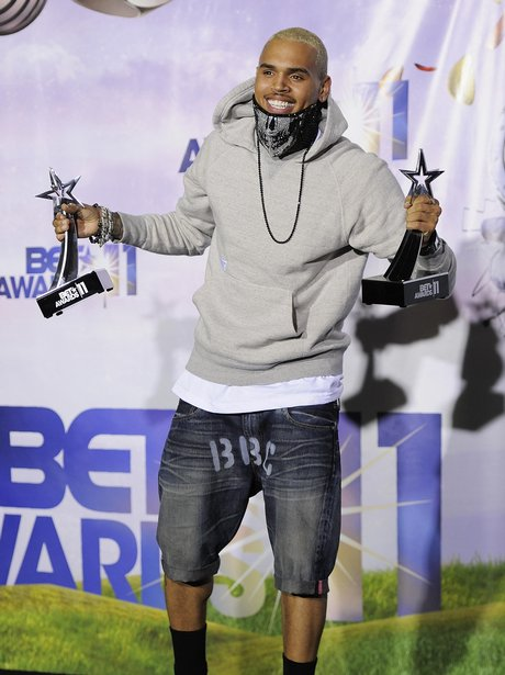 THE BET AWARDS 2011 chris brown