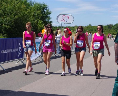 Loughborough race for Life, 27th June