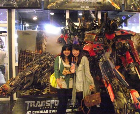 Street Stars at Tranformers screening