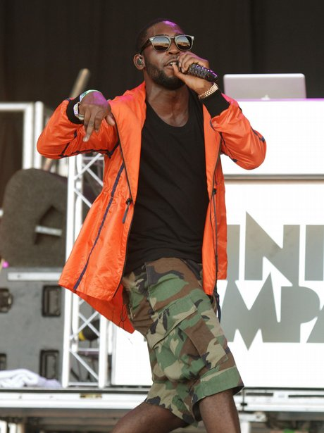 Tinie Tempah playing Glastonbury 2011