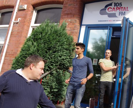 The Wanted at Capital FM