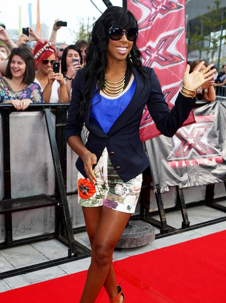 Kelly Rowland X Factor Auditions Liverpool