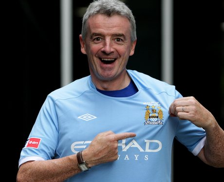 Michael O'Leary in Manchester