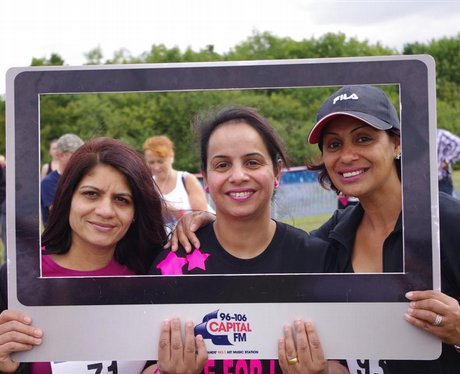 Race for Life, Western Park 9th July