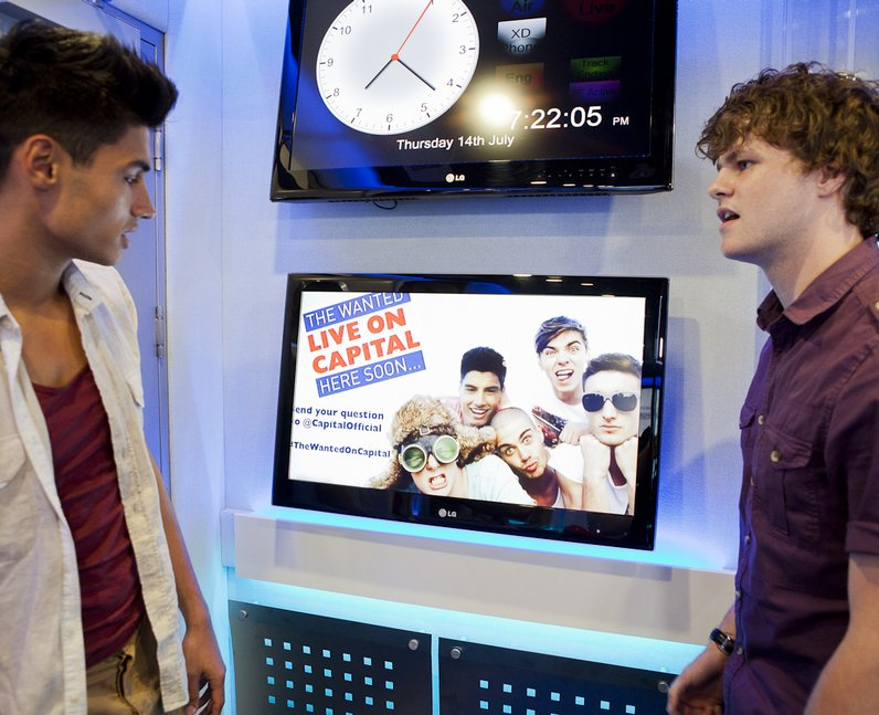 The Wanted Live On Capital Webchat