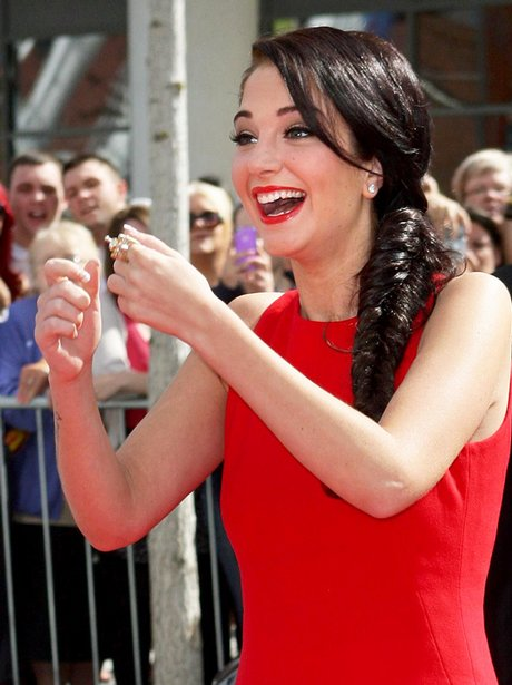 Tulisa Contostavlos X Factor Auditions Liverpool