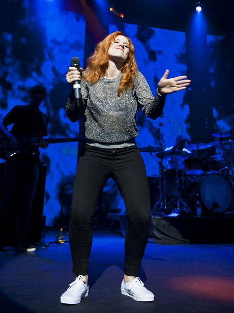 Katy B live at the itunes Festival