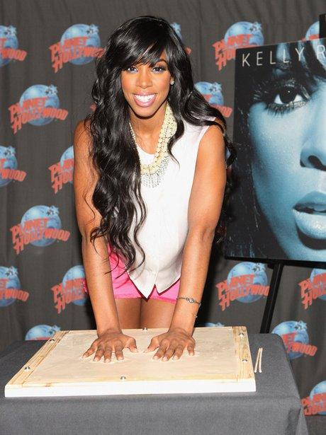 Kelly Rowland at Planet Hollywood
