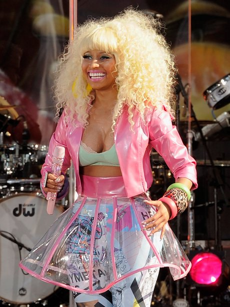Nicki Minaj live in New York