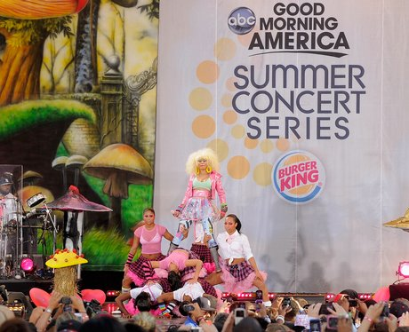 Nicki Minaj live in New York