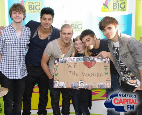 The Wanted Backstage @ Ponty