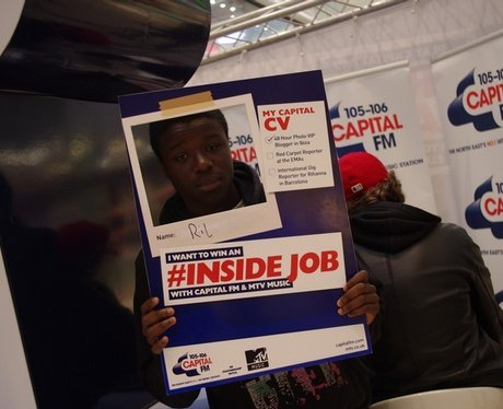Capital FM Inside Job with MTV