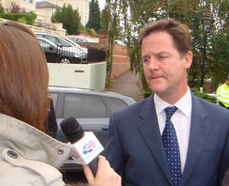 Clegg In Nottingham