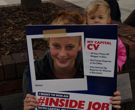 #Inside Job competition at Cascades Portsmouth