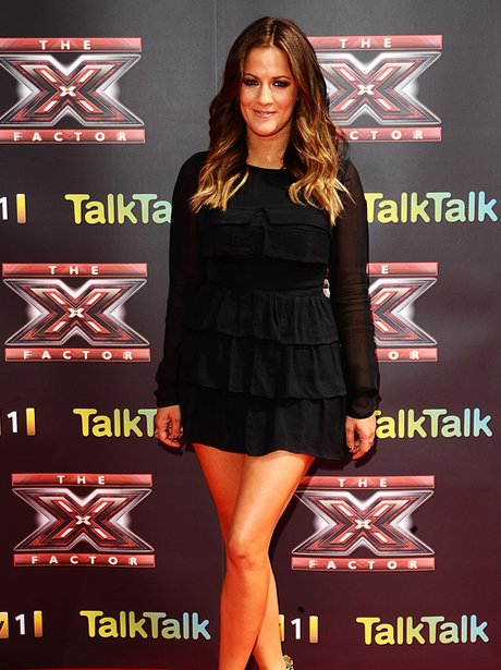 Caroline Flack X Factor Press Launch