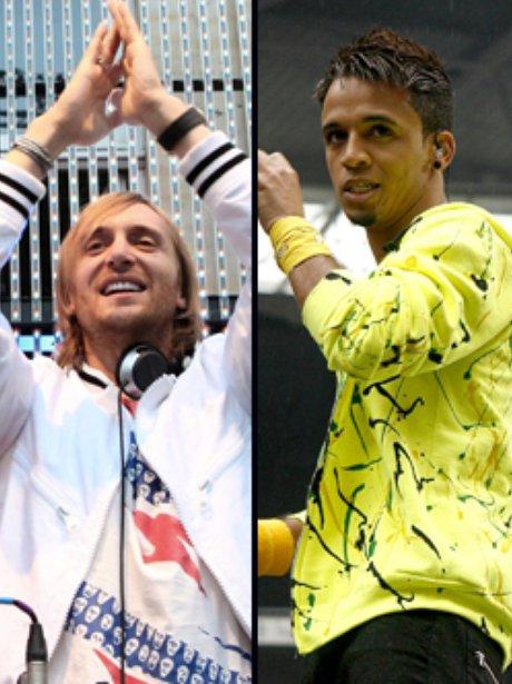 David Guetta and JLS