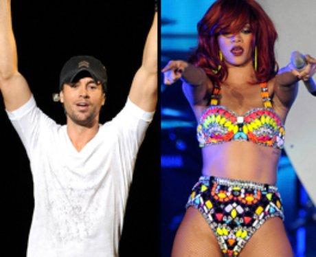 Enrique Iglesias and Rihanna