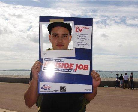 #Inside job in Southsea