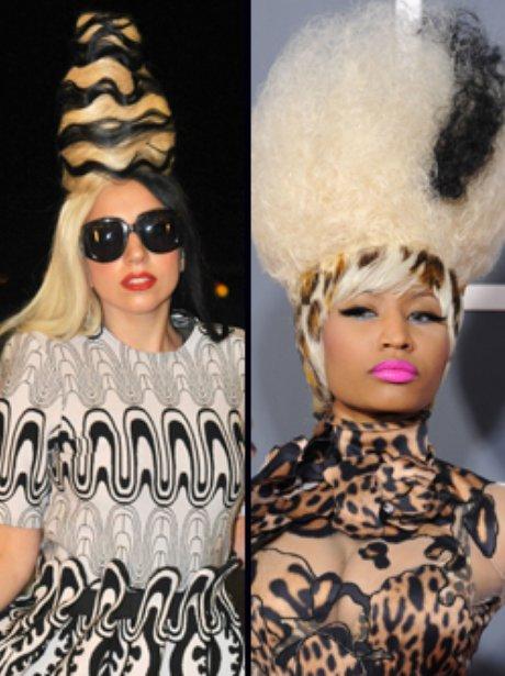 Lady Gaga and Nicki Minaj