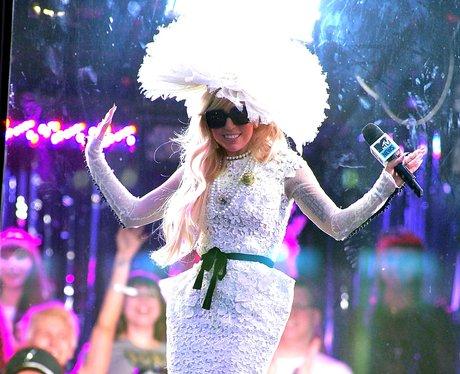 Lady Gaga At MTV