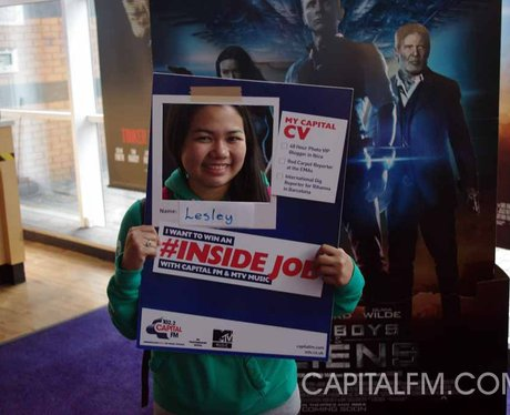 MTV #insidejob Cineworld Broad Street
