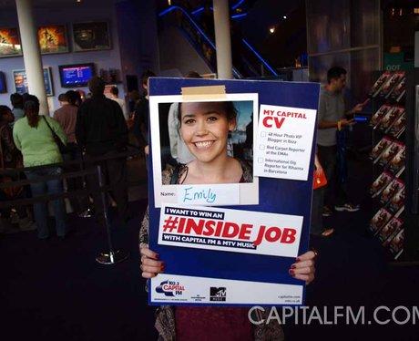 MTV #insidejob Cineworld Broad Street