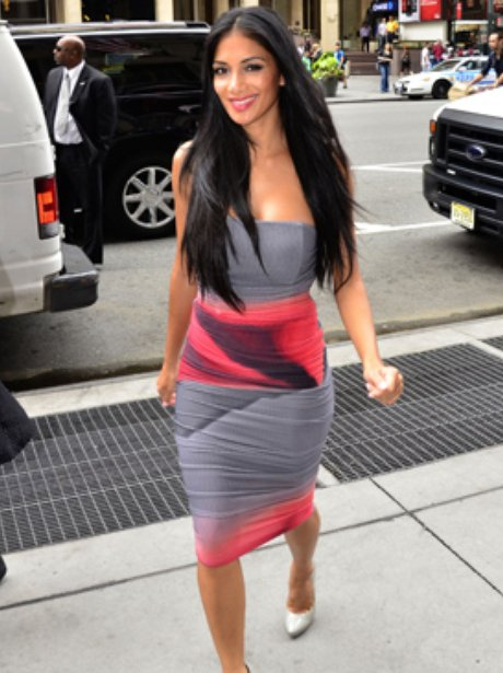 Nicole Scherzinger In New York