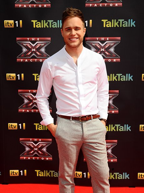Olly Murs X Factor Press Launch