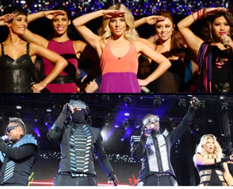 The Saturdays and Black Eyed Peas