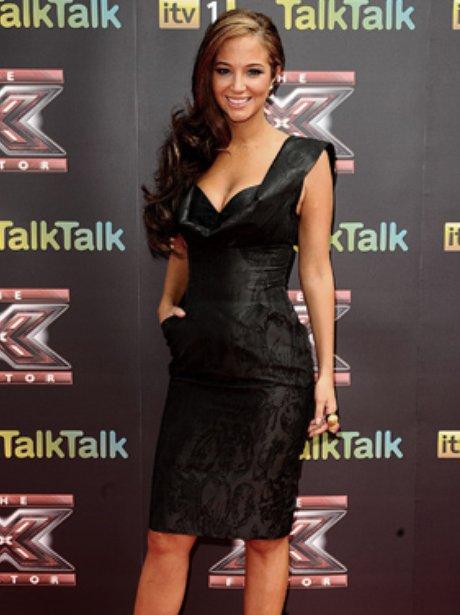 Tulisa Contostavlos X Factor Press Launch