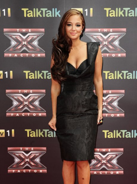 X Factor Press Launch tulisa