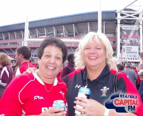 Wales V England