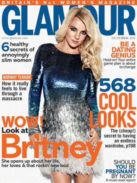 britney spears glamour magazine