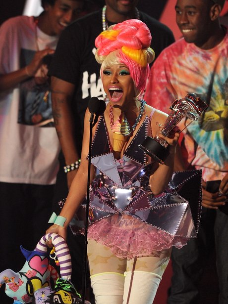 Nicki Minaj At The 2011 MTV VMAs