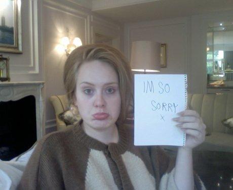 Adele on twitter