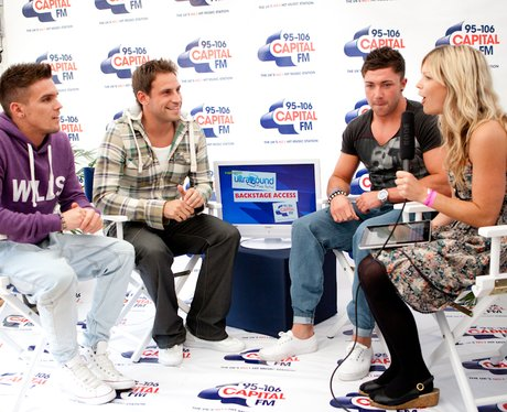 Geordie Shore Backstage with Christian and Katy