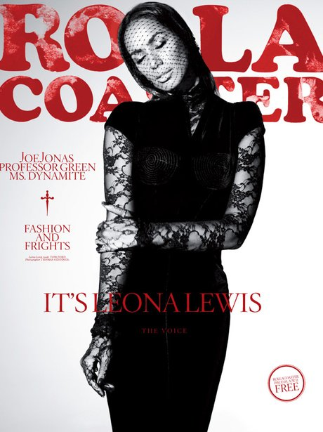 Leona Lewis in Rollacoaster magazine