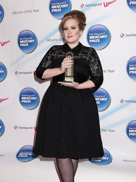 Adele Mercury Music Prize 2011