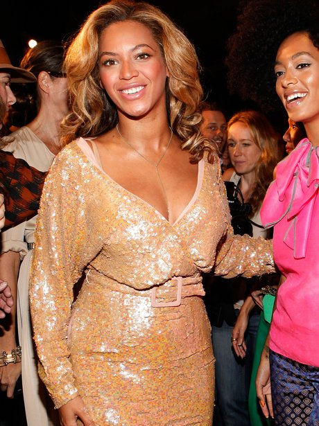 Beyonce at Fashion Week