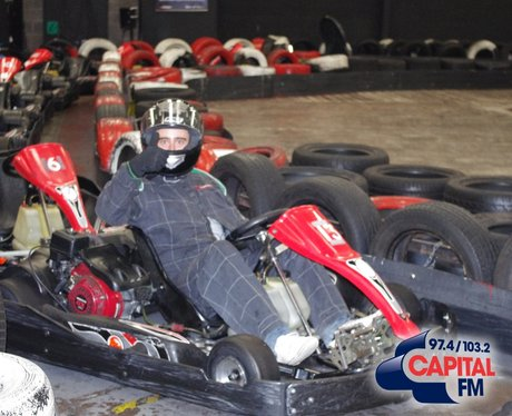 Matt tackles Go Karting