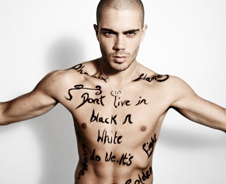 Max from The Wanted in official 2012 calendar