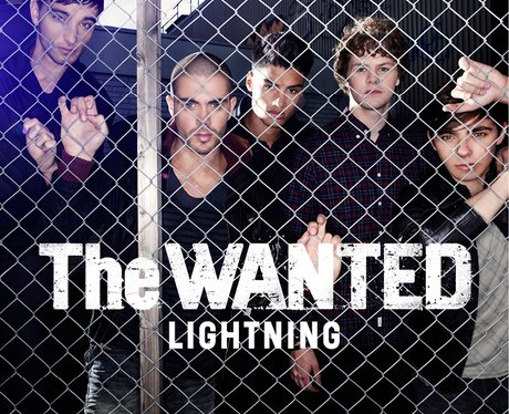 The Wanted Lightning Single Cover