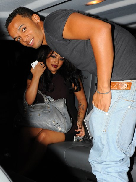Vanessa White and Aston Merrygold