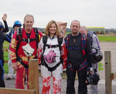 Rachel's 10 Thousand Feet Sky Dive