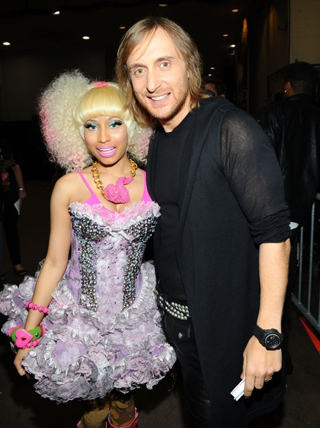 Nicki Minaj and David Guetta