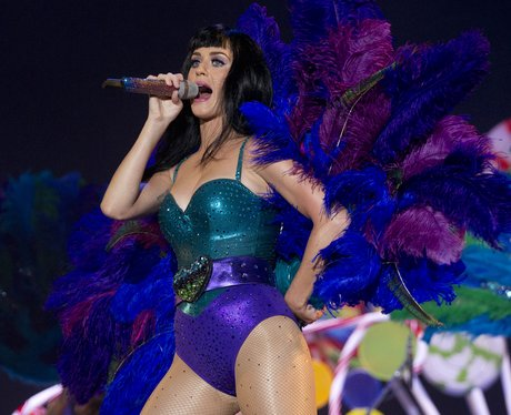 Katy Perry on stage at Rock In Rio