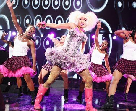 Nicki Minaj live on stage