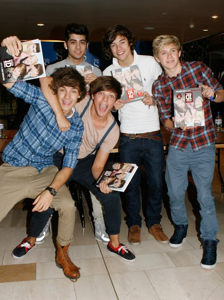 One Direction book signing