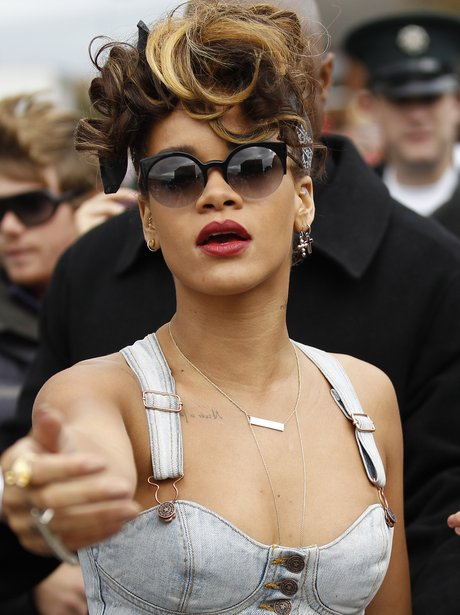 Rihanna arrives in Belfast to film 'We Found Love' video