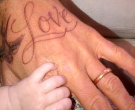 david beckham's tattoo